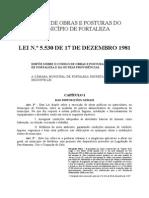 14-Código de Obras e Posturas Do Município de Fortaleza
