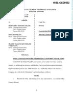 Jill Noble v Anthem Data Breach Class Action Complaint