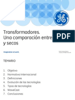 Comparacin Transformadores Liquidos y Secos