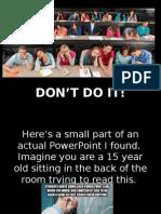 powerpoints 101