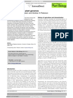 Domestication and Plant Genomes-2009