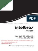 Manual Interface Celular ITC4000