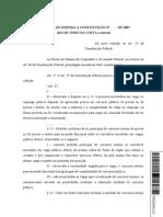 PEC 34-2007 - Ascensão Funcional