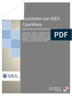 Funciones con Data Analysis software IDEA