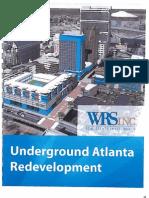 WRS, Inc. Underground Atlanta Redevelopment Proposal