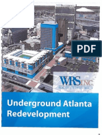 WRS, Inc. Underground Atlanta Redevelopment Proposal