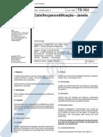 NBR 10820 - 1989 - Caixilho Para Edificação- Terminologia