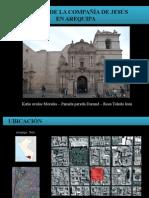 Compañia de Jesus en Arequipa