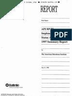 API API RP 75
