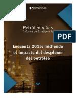 Reporterer Inteligencia Petroleo y Gas Enero 2015