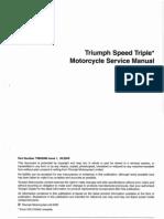 Workshop Manual Triumph Speed Triple 1050-3-2005