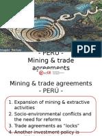 Minería y Acuerdos Comerciales