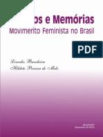 Historico do  Movimento Feminista No Brasil