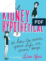 The Kidney Hypothetical by Lisa Yee EXCERPT
