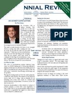 Centennial Review - March 2015