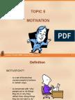 Topic5 Motivation