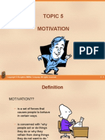 Topic5 Motivation