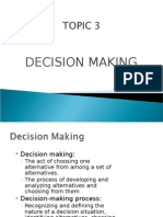 Topic3 Decision Making