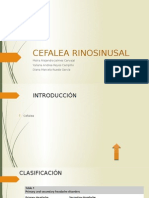 CEFALEA RINOSINUSAL