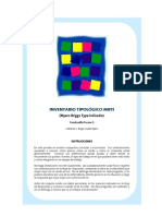 Inventario Tipologico Mbti Cuadernillo Normal 126 Preg