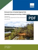 Lilydale Regional Park Report