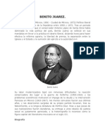 Biografía de Benito Juarez