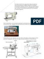 Maquinas coser