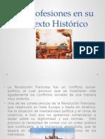 Las profesiones en su contexto historico