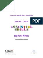 Mosaic Student Notes