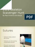 1 2 2 skeleton scavenger hunt p