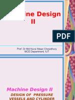 Design Ofpressurevessel 1