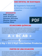 2.0 Ecuasión Quimica