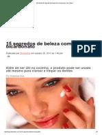 BH Mulher15 Segredos de Beleza Com Bicarbonato - BH Mulher
