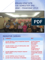 Evaluasi Semester 9 KPAP_NTB