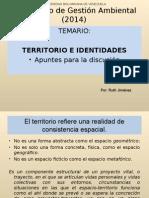 Territorio e Identidades Presentación