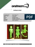 Brilliant Toilet