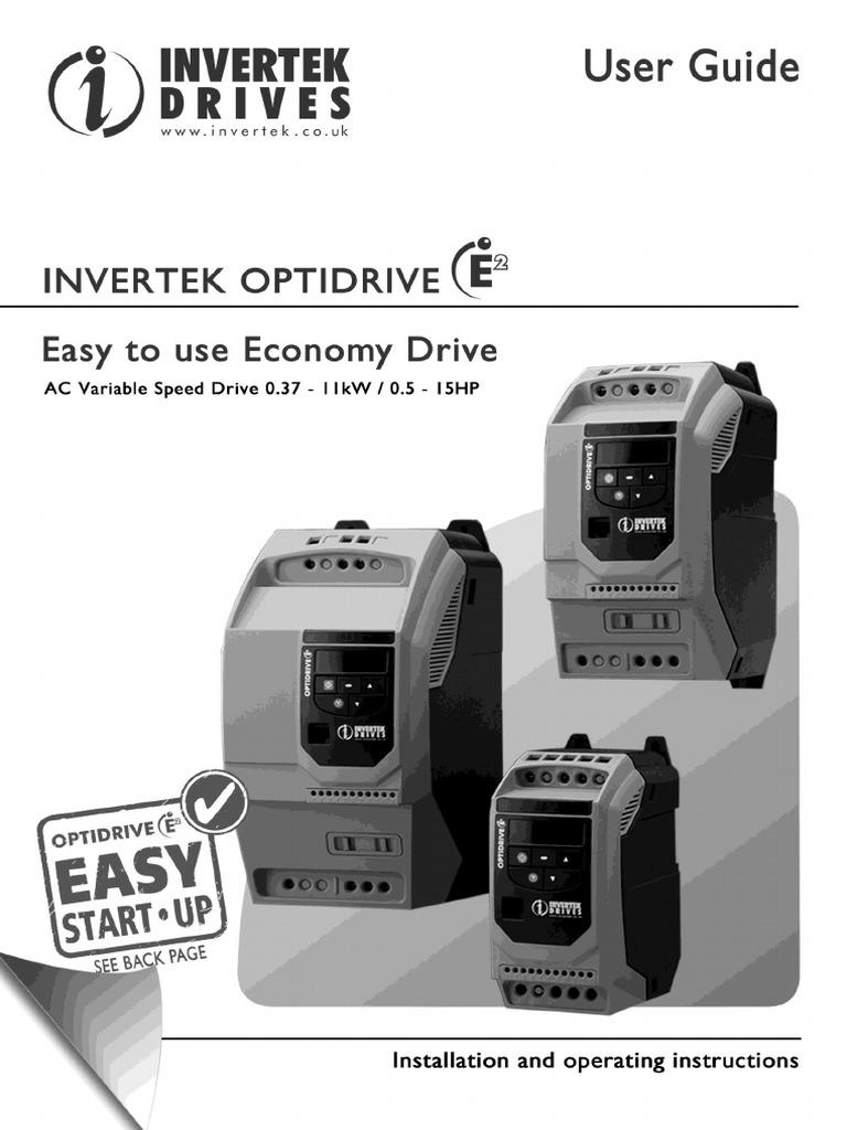 INVERTEK DRIVES ODE-2-12037-1KB12 OPTIDRIVE E2