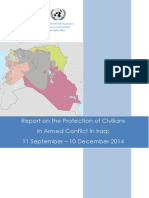 Report on the Protection of Civilians in Armed Conflict in Iraq