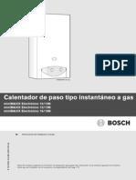 manual bosch miniMAXX Electronico 2007