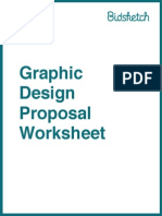 Graphic Design Proposal Worksheet
