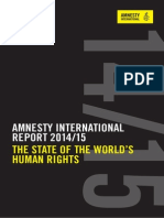 Amnesty International Report 2014/15