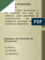 contratos accesorios