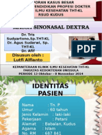 Presentation Lutfi THT Karsinoma Sinonasal