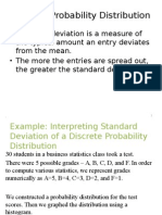 Interpreting Standard Deviation