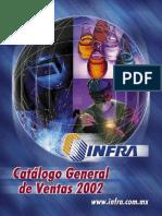 Catálogo Infra 2002