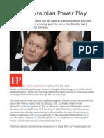 Putin's Ukrainian Power Play