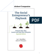 EIP Worksheet Companion Social Entrepreneurs Playbook v1 2