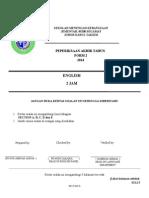Final Exam FORM2 2014
