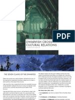 Dwarvish Cross Cultural Relations