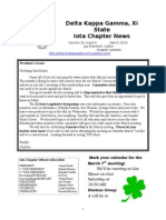Newsletter 2015 March